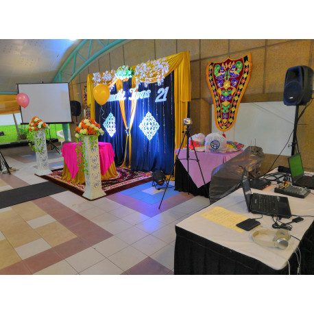 D-NEXU Sound System and Projector Rental Package