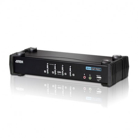 Aten CS1764A 4-Port USB DVI Audio KVMP Switch