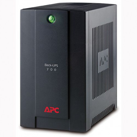 APC BX700U-MS Back-UPS 700VA, 230V, AVR, Universal and IEC Sockets