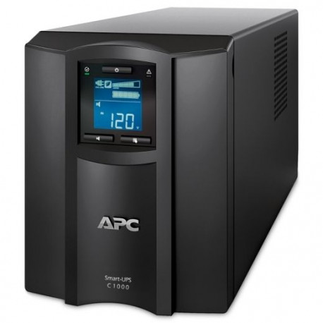 APC SMC1000IC Smart-UPS 1000VA, Tower, LCD 230V with SmartConnect Port