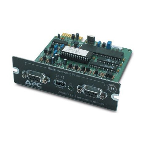 APC AP9607 2-Port Serial Interface Expander SmartSlot Card